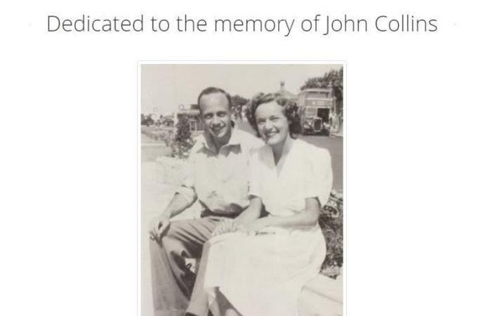 John Collins  5th May 1927 – 28 December 2020